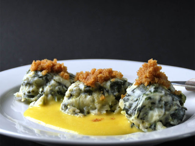 Grüne Bällchen aus Rübstiel / Stielmus | pastasciutta