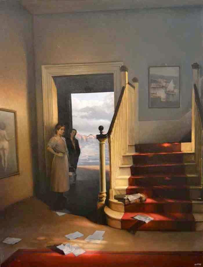 Французский художник-реалист. Alain Senez