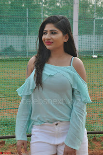 Madhulagna Das looks super cute in White Shorts and Transparent Top 42.JPG