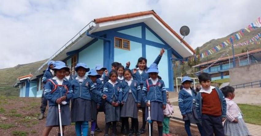 CUSCO: Niños de centro poblado de Calca estudiarán en moderno colegio