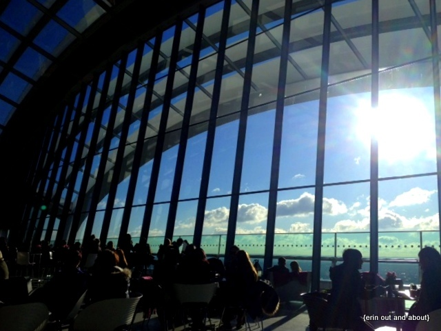 {Erin Out and About} Sky Garden