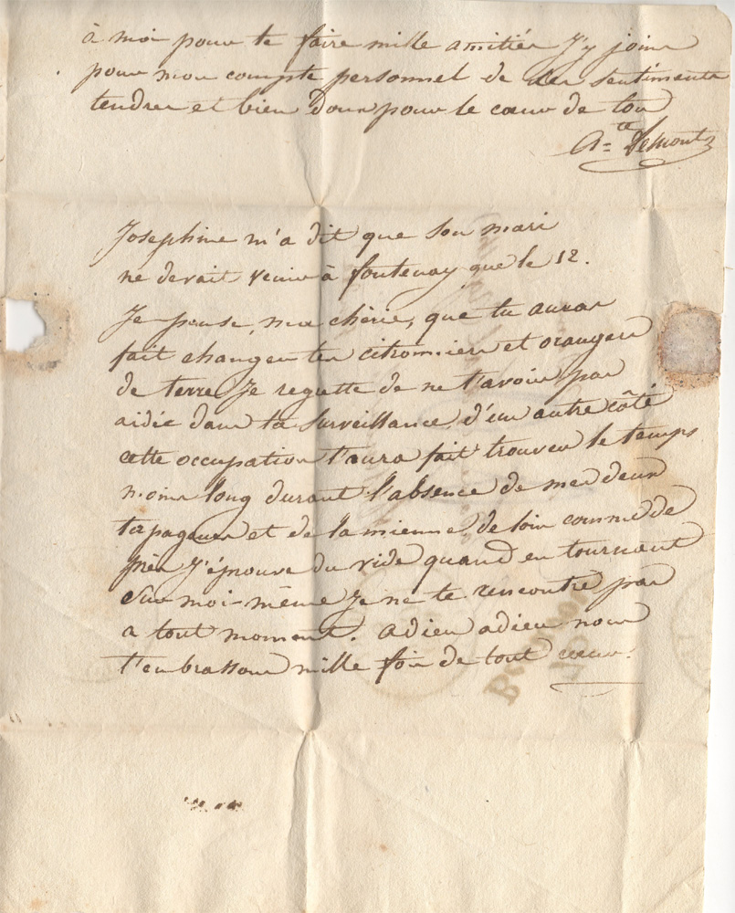 Troisième page
