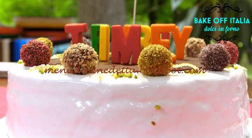 Funny Cake ricetta Knam da Bake Off Italia 5