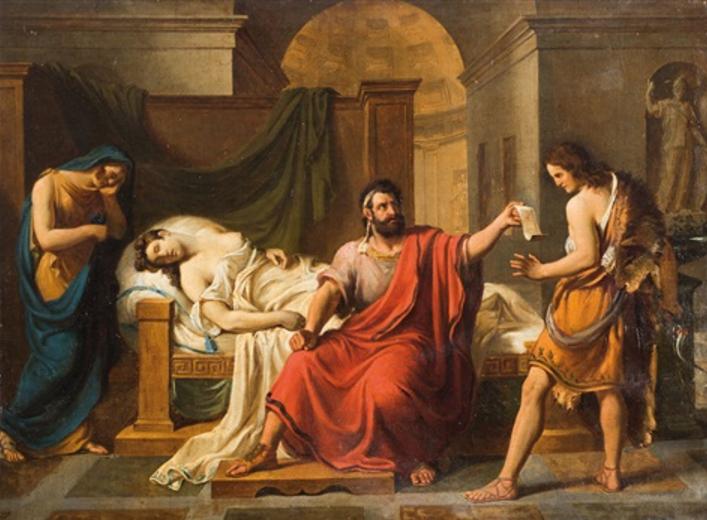 La morte di Fedra, Vincenzo De Angelis