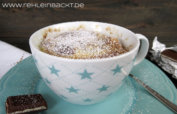 Tassenmarmorkuchen bzw. Marble Mug Cake | Foodblog rehlein backt