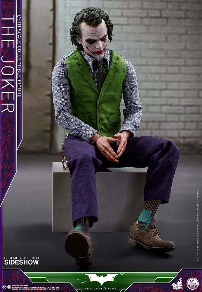 This is Better than Hot Toys Joker 2 0  Hot Toys Joker 1/4