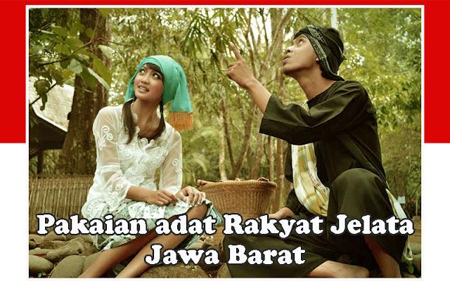 Gambar Pakaian Adat untuk Rakyat Jelata Jawa Barat