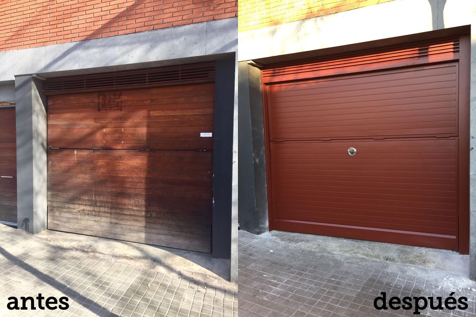 Puertas correderas puertas autom ticas puertas de garaje for Puerta garaje basculante precio
