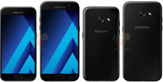 Galaxy A3 e Galaxy A5 2017
