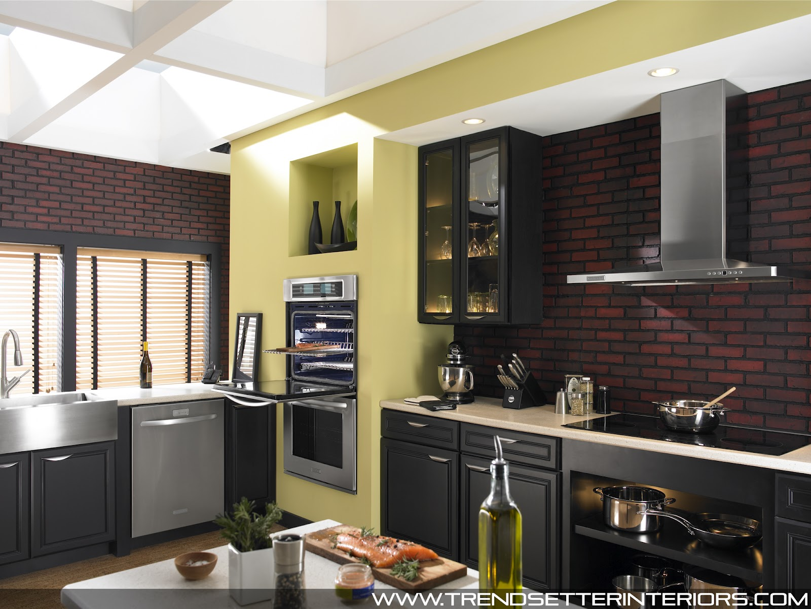 Trendsetter Interiors Kitchen Designs By Kitchenaid Architect Series
