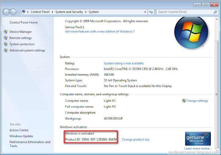 Activate Windows 7 over Internet with Multiple Activation