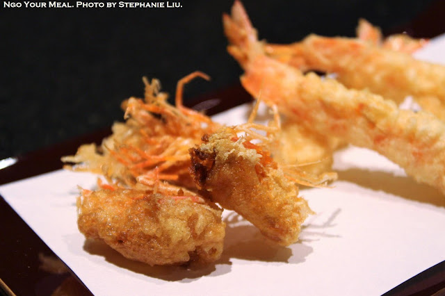 Shrimp Tempura Heads and Bodies at Tempura Endo Yasaka