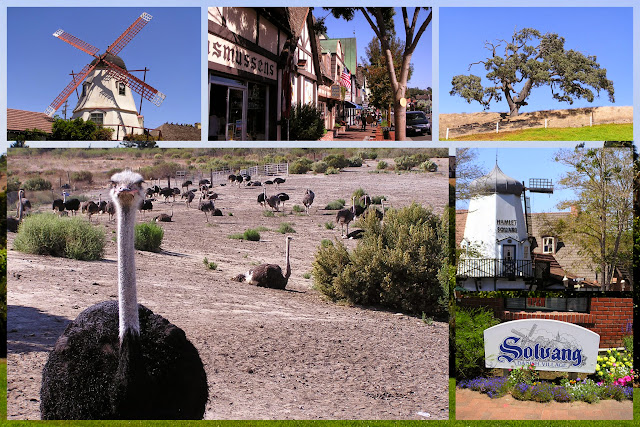 California Coast Drive - Solvang - Little Denmark