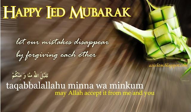 Selamat Idul Fitri Bahasa Inggris Pusatrik Com