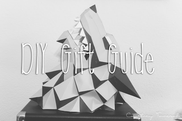 DIY Gift Guide for the Holidays, by Courtney Tomesch