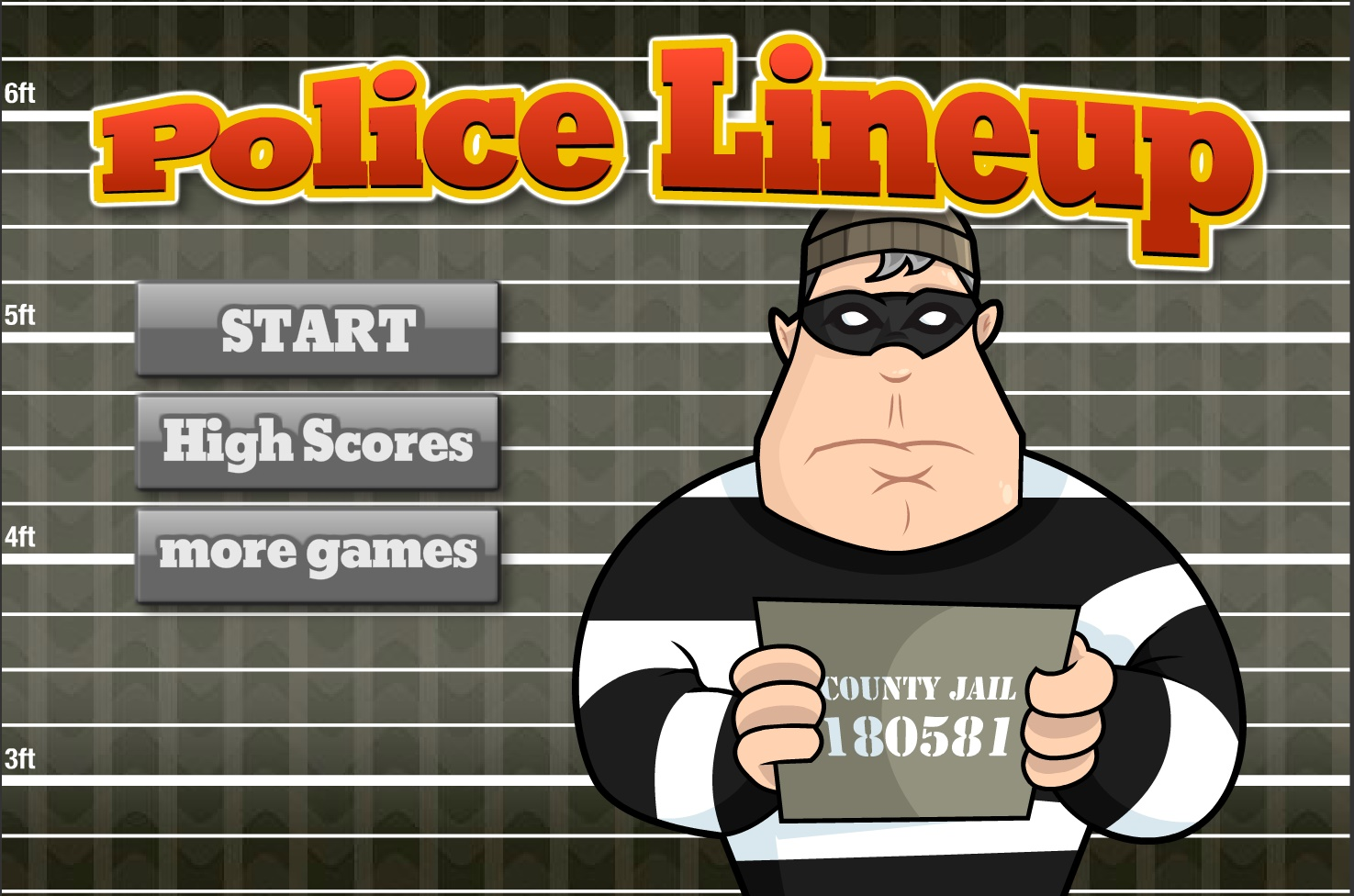 Police Lineup Play Free Online Fun Game