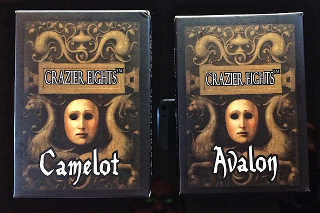 Crazier Eights: Camelot and Avalon boxes