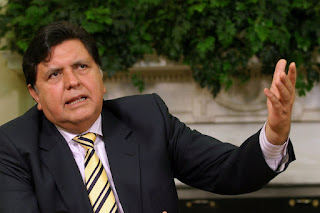 Peru's Former President Alan Garcia Shot Himself