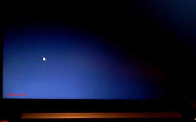 laptop black screen hanya kursor