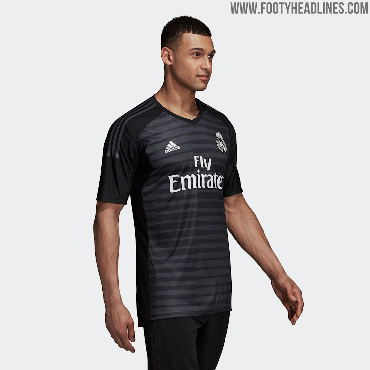 online store 5f251 cf644 Real Madrid 18-19 Goalkeeper Home & Away Kits Released ...