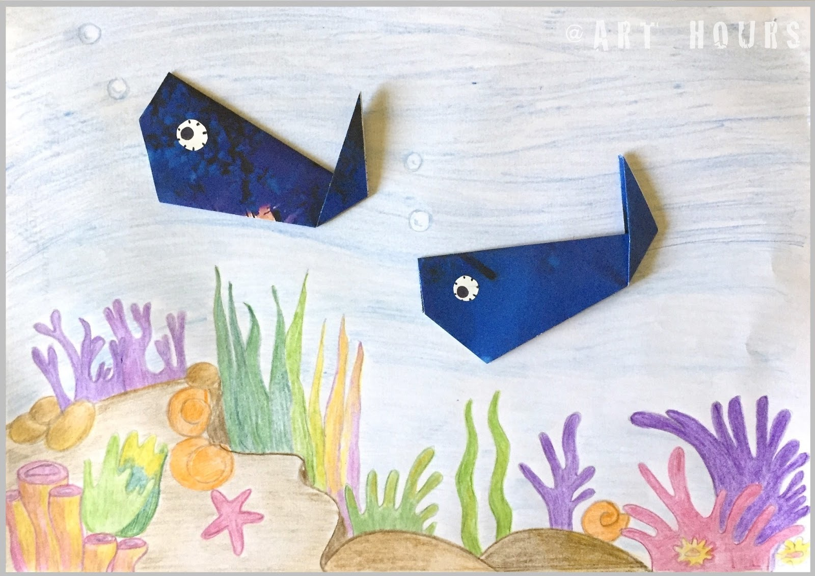 archguide origami dolphin easy origami for kids