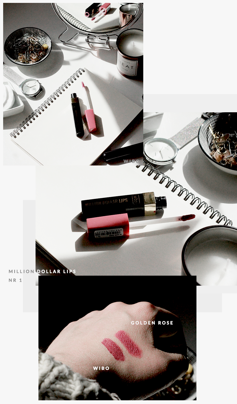 BEAUTY | Best Beauty Buys - ulubione kometyki - Makeup Revolution, L'Oreal, Wibo, Recenzja Million Dollar Lips, Olejkowy Rytuał Nutri Gold Goldandberry Gold and Berry Blog