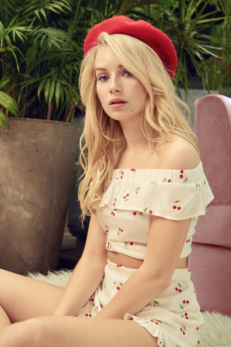 Lottie Moss x PacSun Spring/Summer 2018 Campaign