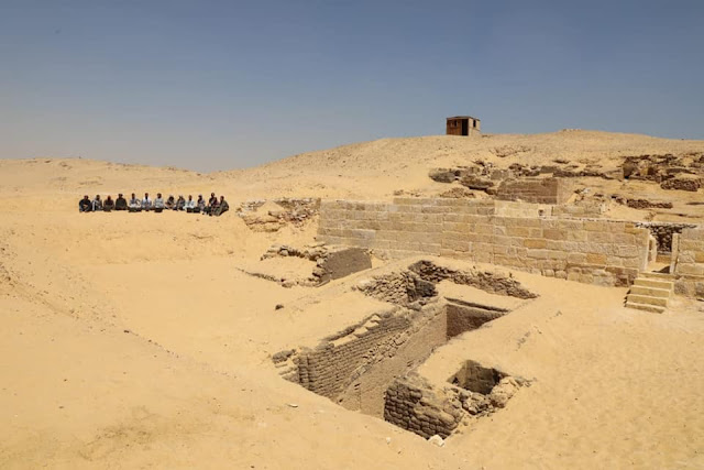 Old Kingdom tombs discovered on Egypt's Giza Plateau