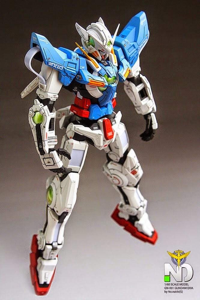 Gundam Family: 1/60 GN-001 Gundam Exia Perfect Grade ...