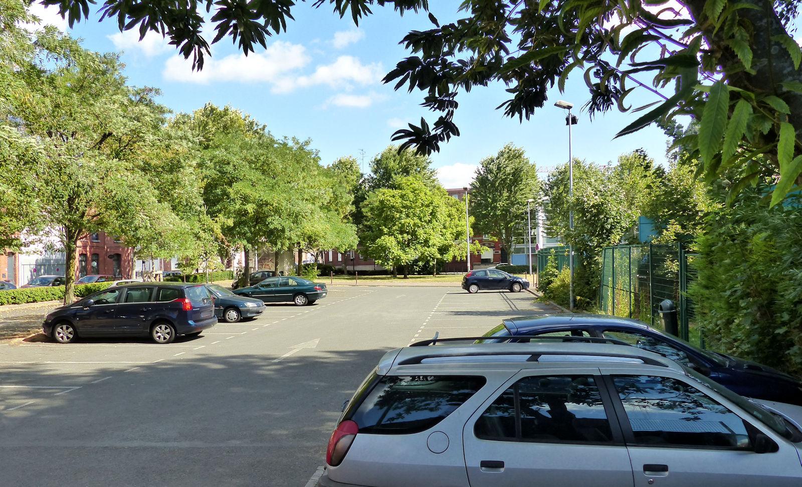 Place Célestin Freinet - Parking, Stationnement Tourcoing
