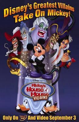 Mickey's House Of Villains 2001 DVD R1 NTSC Latino