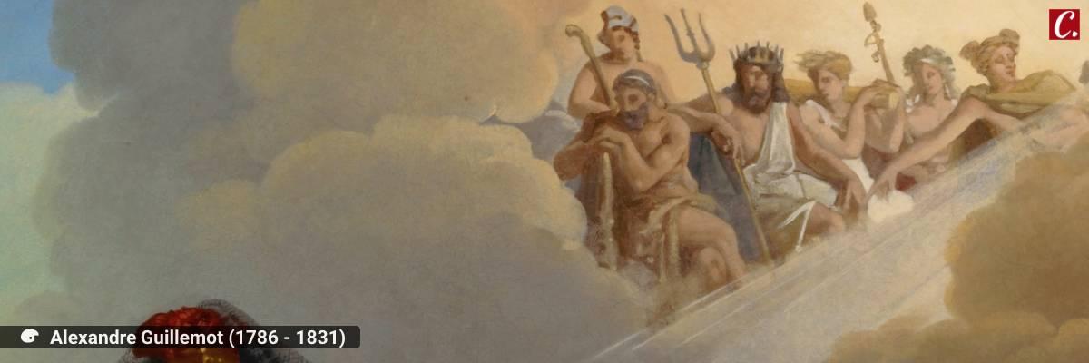 ambiente de leitura carlos romero milton marques junior mitologia grega canto do galo odisseia homero ilidia afrodite mito do galo adulterio