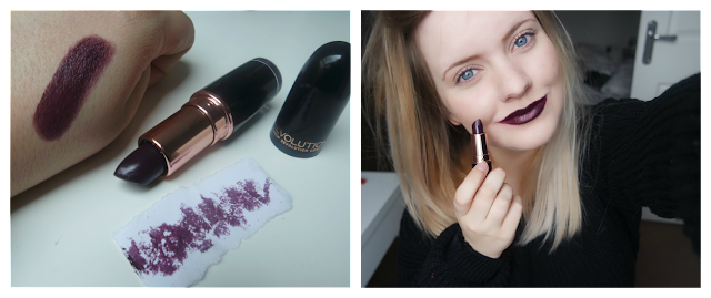 Makeup Revolution Iconic Pro Lipstick in Blindfolded Swatch on http://emandhanxo.blogspot.co.uk