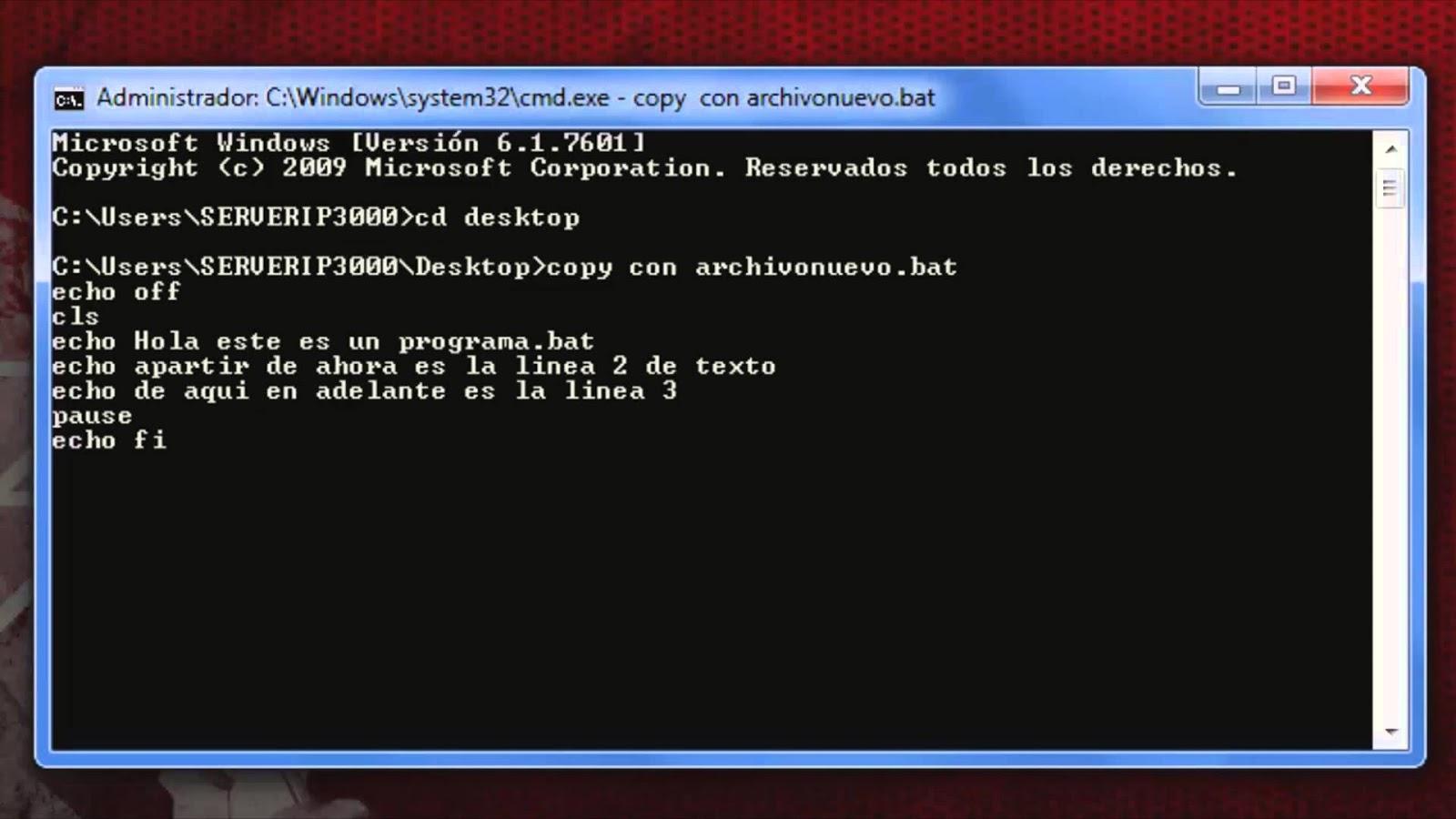 descargar manual de comandos cmd pdf