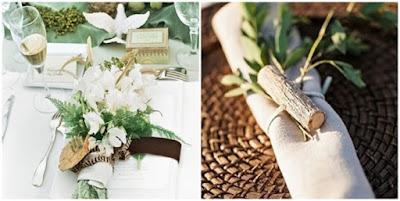 deco de table nature pour mariage