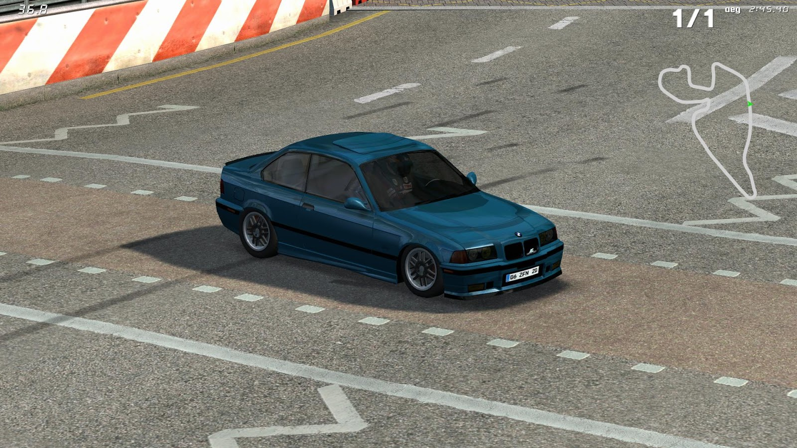 Live For Speed Mods: BMW e36 Coupe Drift edit