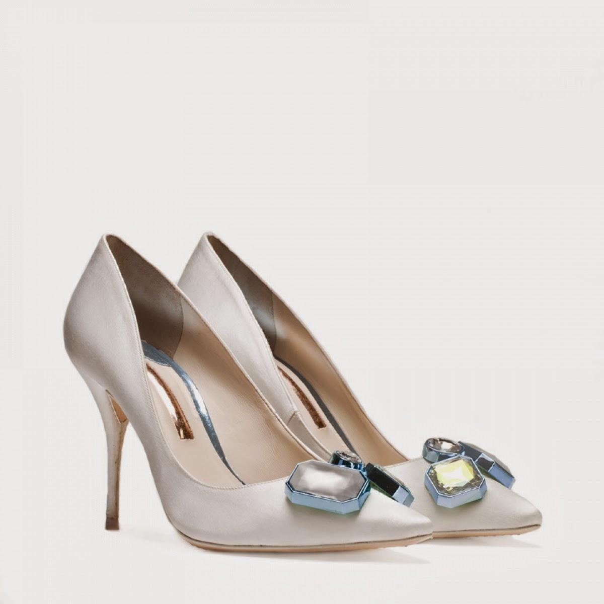 Bridal magic wedding shoes for cool brides for Sophia webster wedding shoes