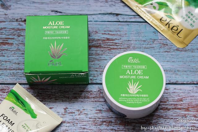Увлажняющий крем с экстрактом алоэ Ekel Aloe Moisture Cream