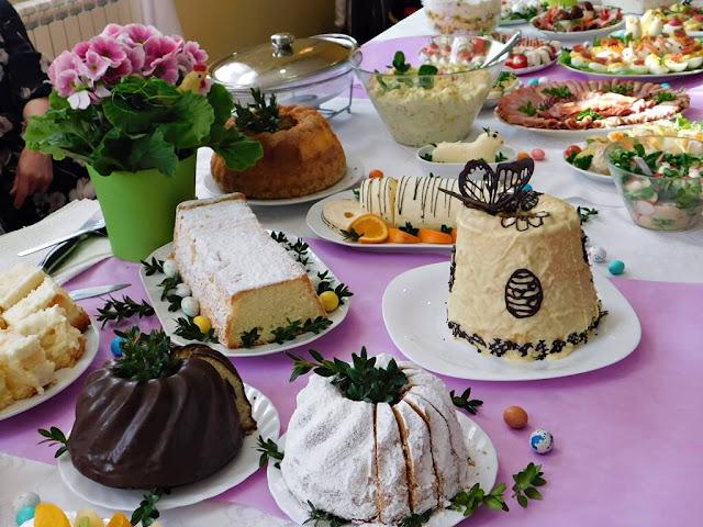 ciasta i baby wielkanocne w Nowym Kramsku