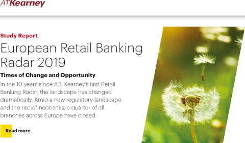 A.T. Kearney – European Retail Banking Radar 2019