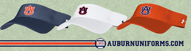 auburn under armour visor hat gus malzahn