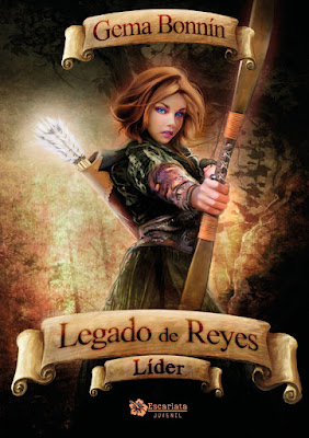 Libro - LEGADO DE REYES #2 Líder. Gema Bonnín (Escarlata) | NOVELA JUVENIL FANTASIA PORTADA