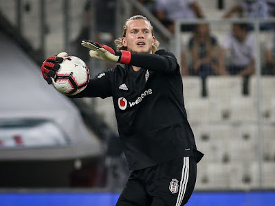 Bravery: Loris Karius surrenders late equaliser in first Besiktas appearance