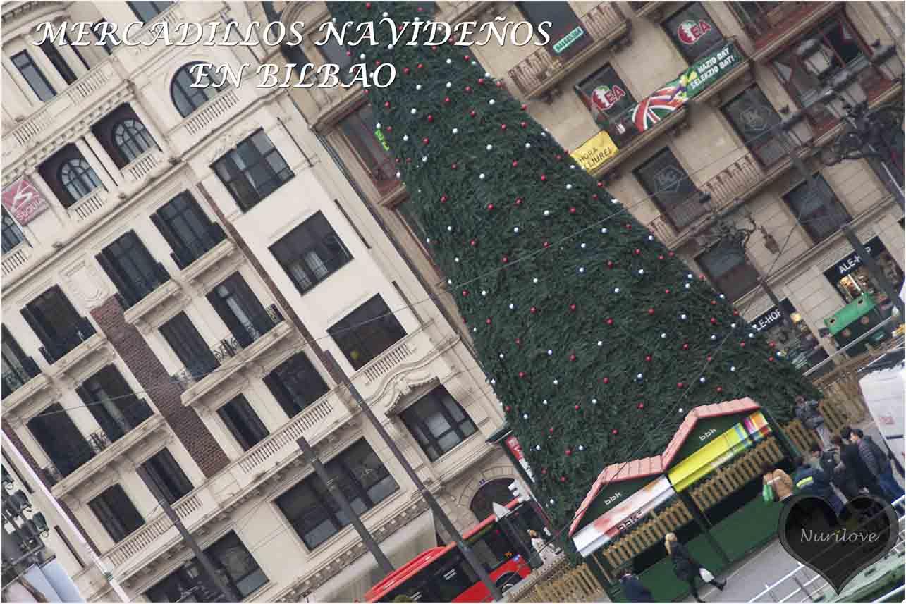 un paseo por los mercadillos navideños típicos de Bilbao