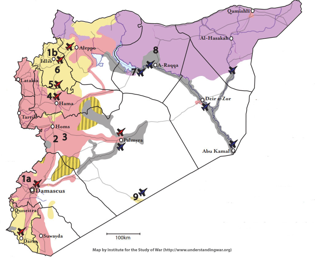Middle East Perspectives by Rick Francona Idlib Governorate the