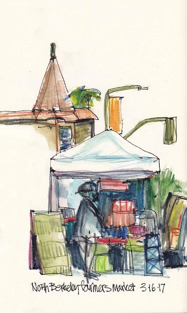 Urban Sketchers S F  Bay Area Monday  March