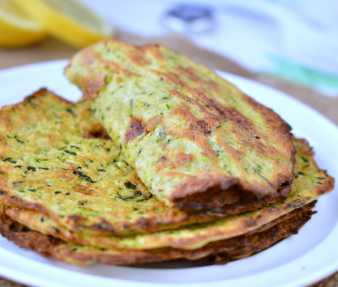 Healthy zucchini tortillas  #diet #healthyrecipe