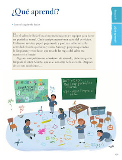 Apoyo Primaria Formación Cívica y Ética 1er Grado Bloque 4 ¿Qué aprendí?