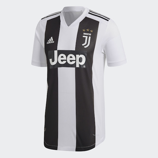 1d810a7dc Adidas Juventus 2018-19 Home Strip