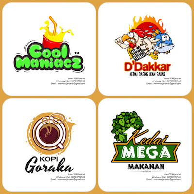 jasa desain logo makanan dan logo minuman